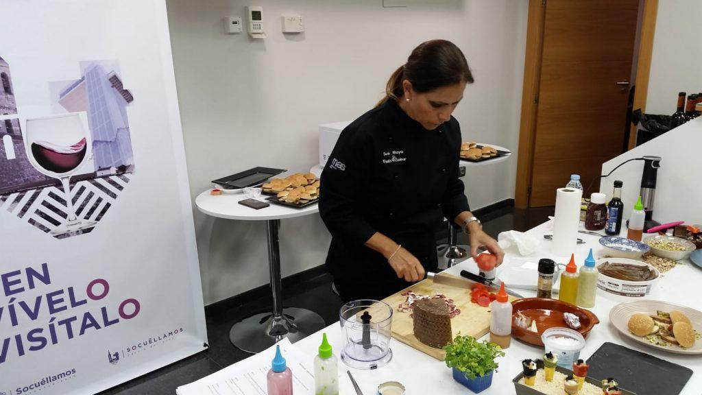 Asistentes al show cooking de Sue López