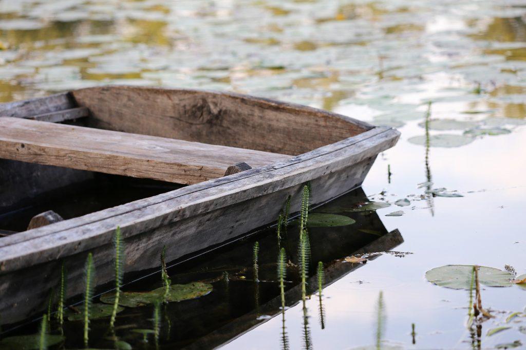 El alma difunto debía pagar con una moneda al barquero por cruzar