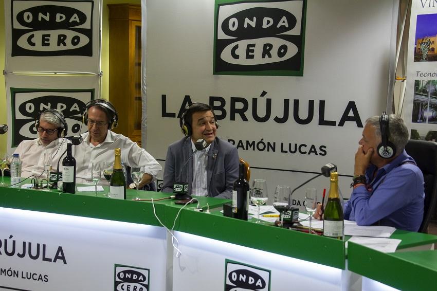 El consejero de Agricultura en los micrófonos de Onda Cero