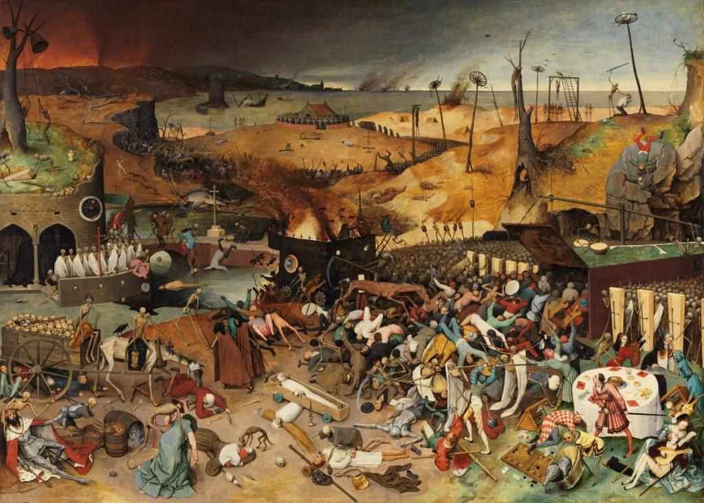 El triunfo de la Muerte. BRUEGEL EL VIEJO, PIETER. Museo del Prado