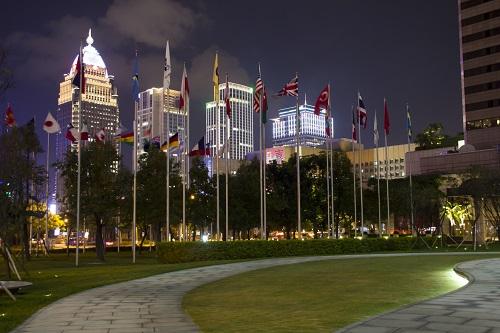 Exteriores de la ciudad de Taipéi