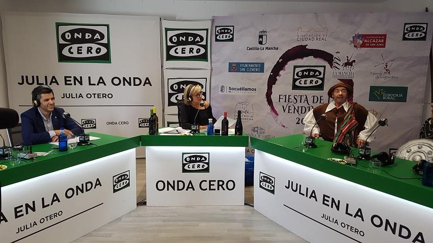 Julia Otero desde Campo de Criptana