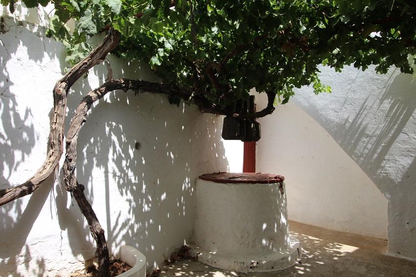 Patio interior en la Plaza de Toros de Tarazona de La Mancha