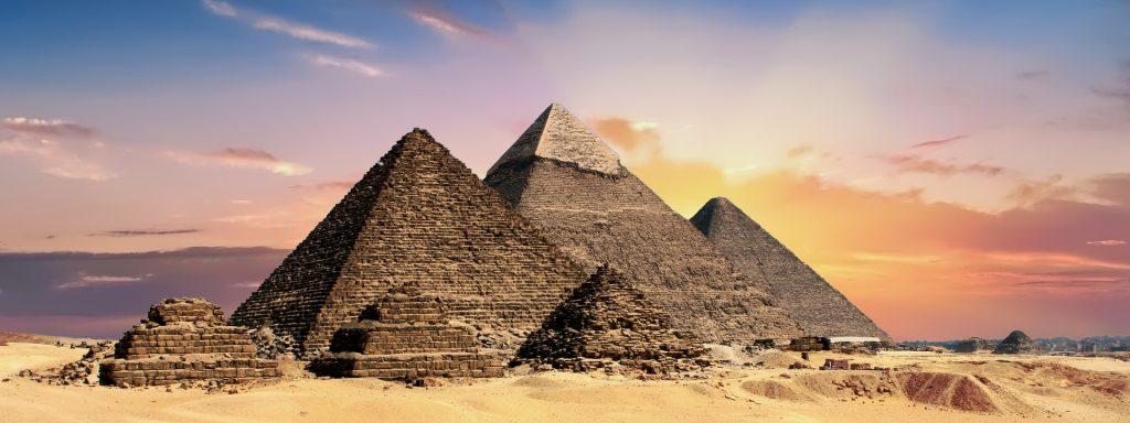 Las pirámides reflejan la importancia de la muerte en el antiguo Egipto