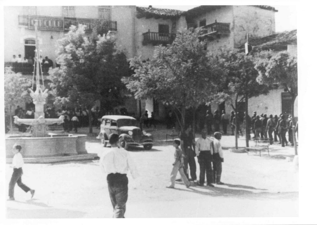 Plaza de Tarazona en la Guerra Civil
