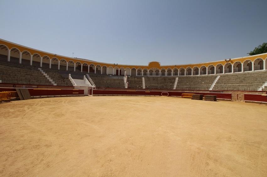 Plaza de Toros de Tarazona de La Mancha inaugurada en 1857