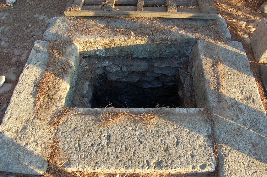 Pozo de la Torrecilla, donde supuestamente habia un duende