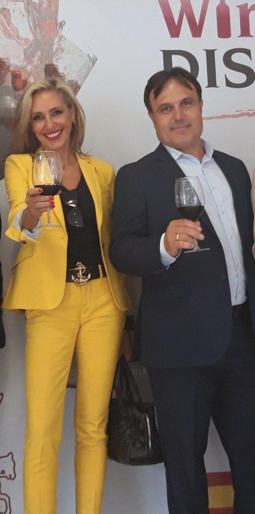 Marta Robles ya coloboró con los vinos DO La Mancha en la Fiesta de la Vendimia
