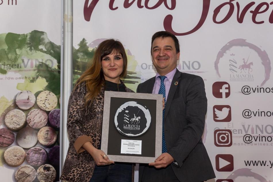 Rozalén recibe el Premio Joven DO La Mancha en 'Artes'
