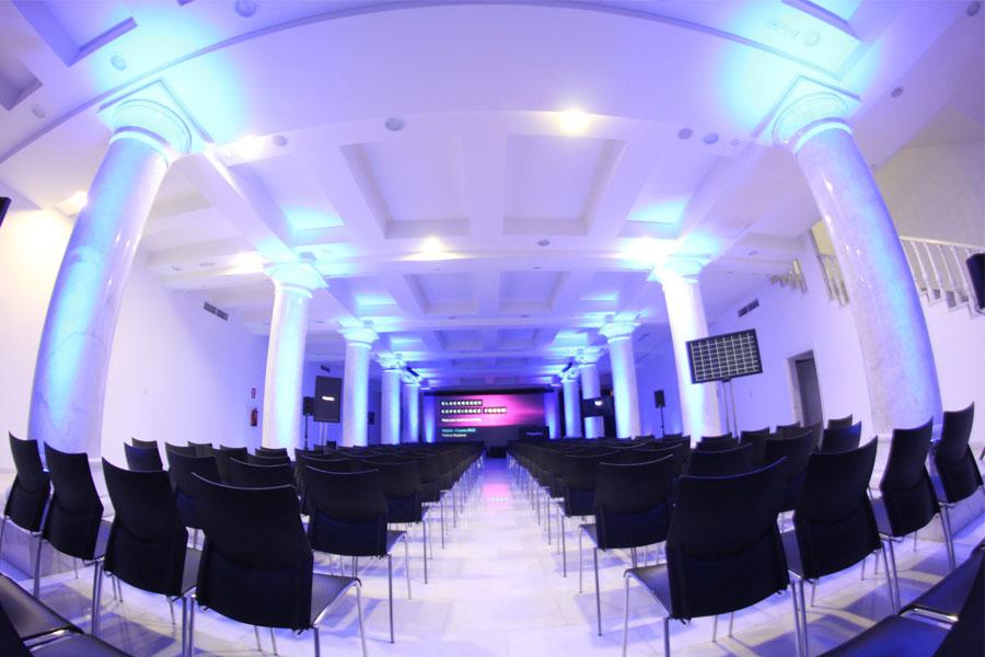 Sala Calipso donde serán entregados los Premios Jóvenes DO La Mancha