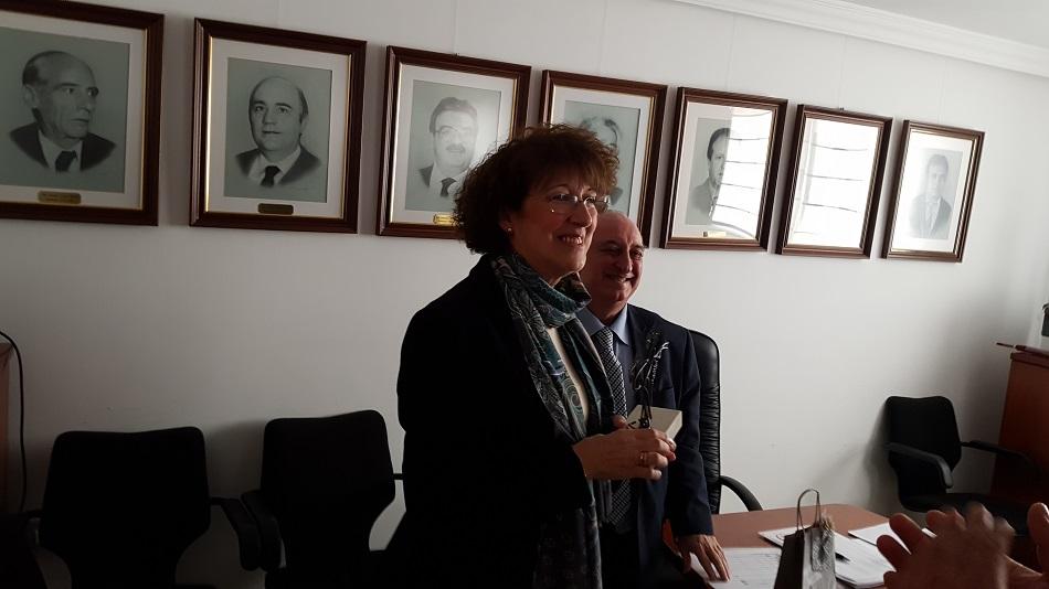 Eugenia Utrilla, homenajeada en el Consejo Regulador
