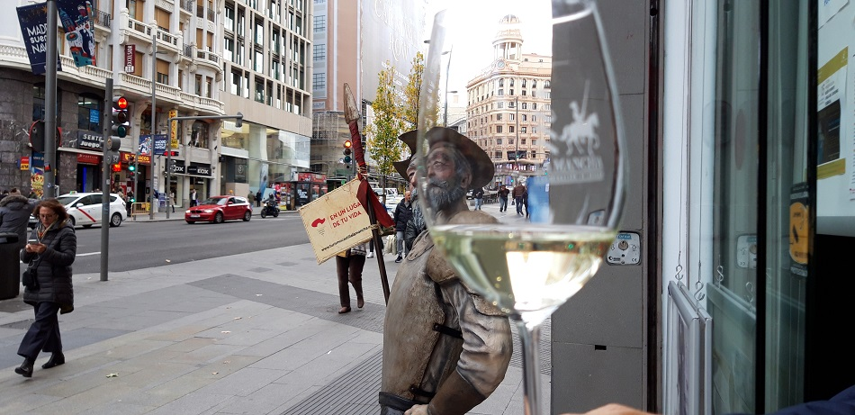 Un vino de La Mancha en la Gran Vía