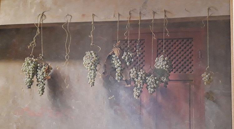 uvas en pasera