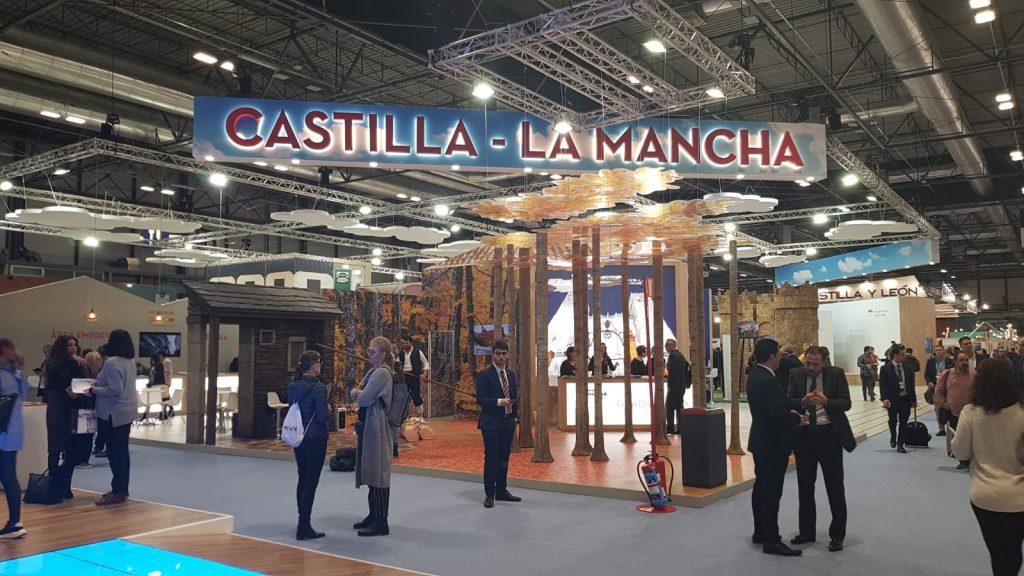 Stand de Castilla La Mancha en FITUR 2020