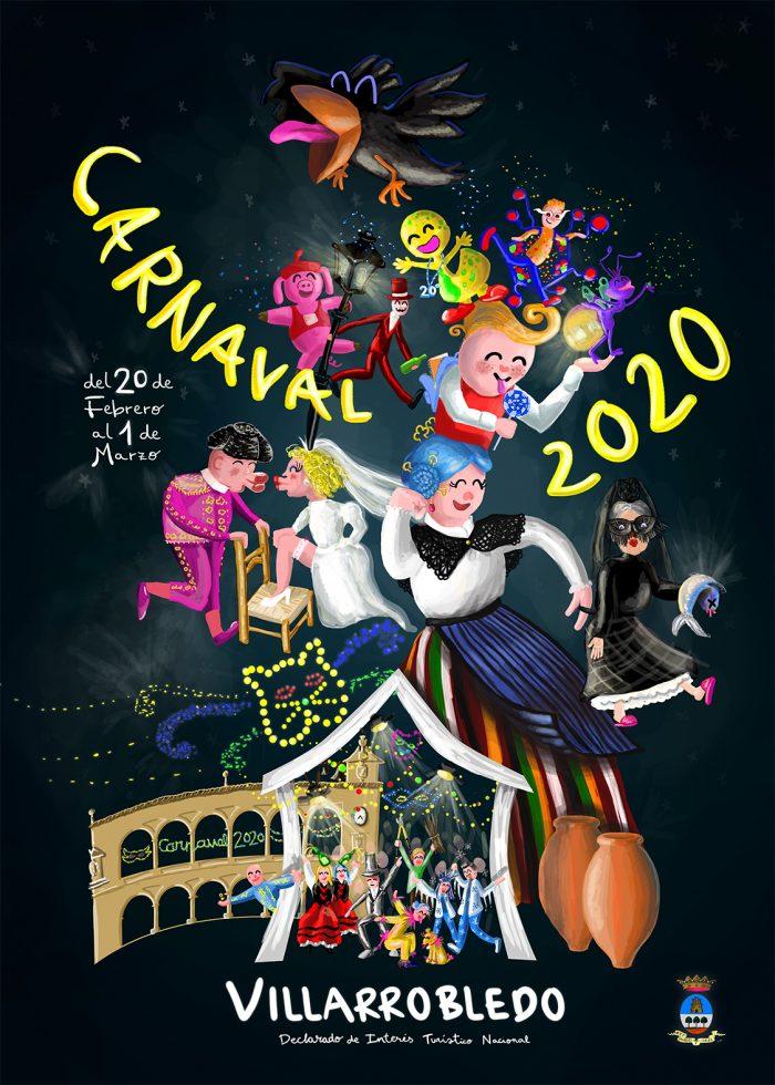 Cartel Carnaval Villarrobledo 2020