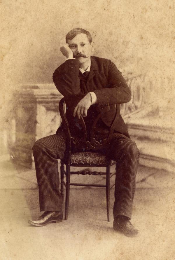 Fotografía de Galdos. Imagen de la Casa Museo Benito Pérez Galdós