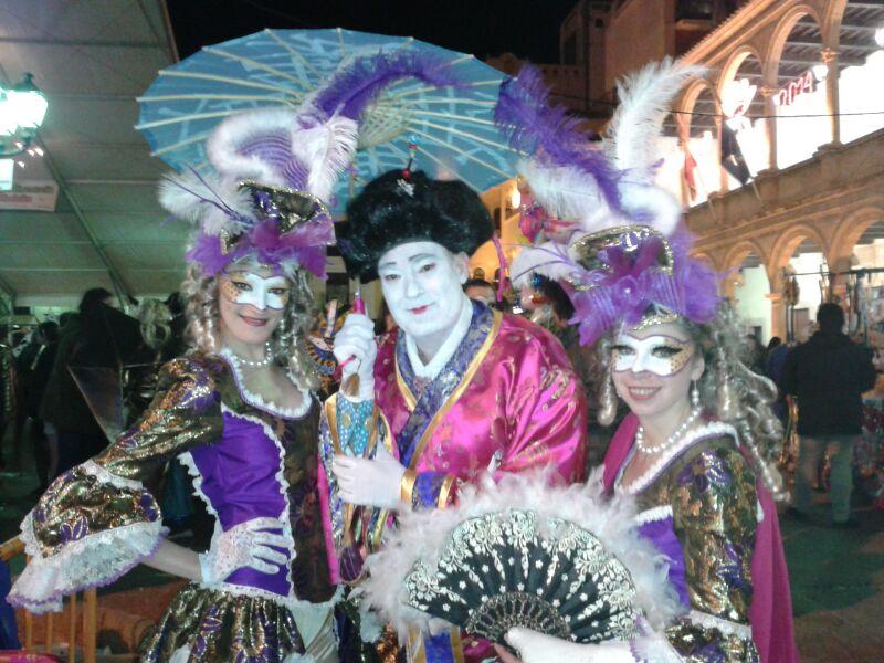 Imagen del carnaval en Villarrobledo