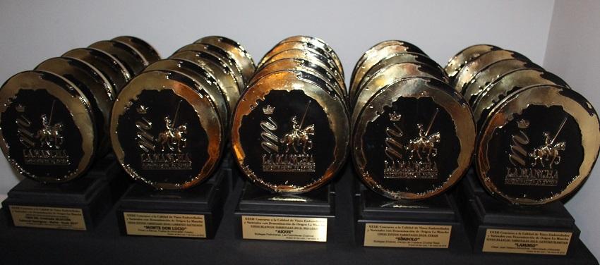 Trofeos entregados el pasado 2019