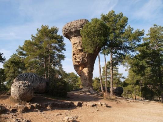 Ciudad Encantada, entre los tesoros naturales de Cuenca