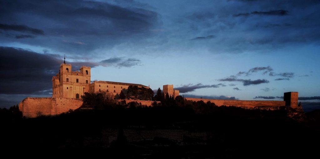Imagen del Monasterio de Uclés. Imagen cedida por https://www.monasterioucles.com/