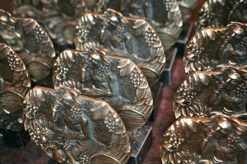 Medallas de los Premios Baco cosecha 2019