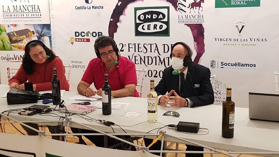 Onda Agraria retransmite desde la Cooperativa Virgen de las Viñas, en Tomelloso