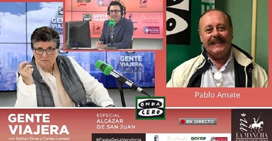 Pablo Amate, colaborador de Gente Viajera