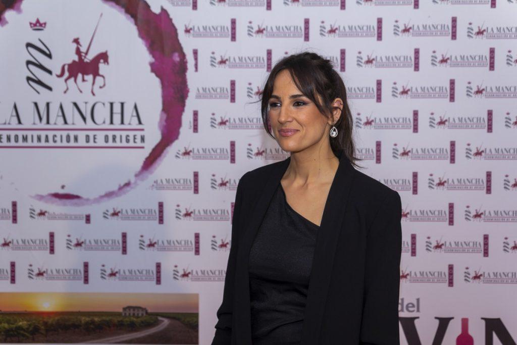 Lorena García ya presentó el acto en 2019