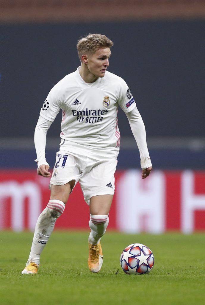 Martín Odegaard, imagen cedida por el departamento de comunicación del Real Madrid