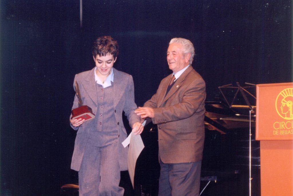 Presentacion Vinos Jovenes en 1998