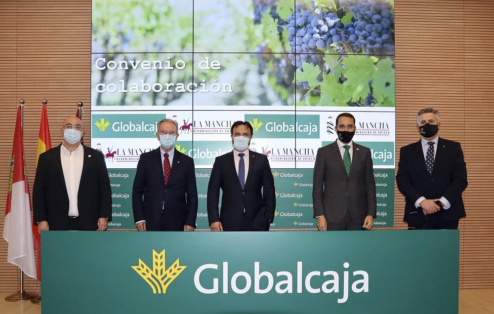 Representantes del Consejo Regulador y Globalcaja