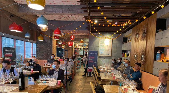 Uno de los seminario virtuales en Hong Kong