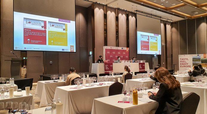 Evento en Seúl en el European Sustainable Wines