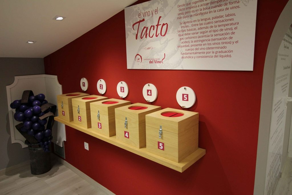 Centro de Intrepretacion del Vino en la sede del Consejo Regulador