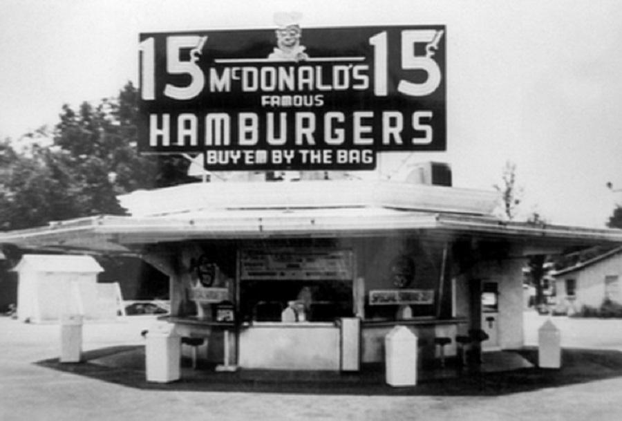 Primer establecimiento de los Hermanos McDonalds