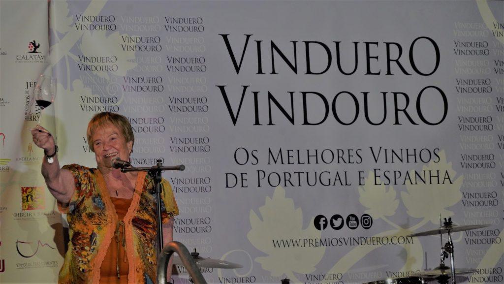 Isabel Mijares, presidenta del jurado de los Premios VinDuero