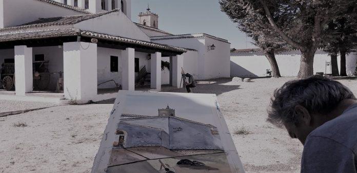 Pintura Rápida realizada en 2019 en la Casa de Dulcinea