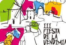 Cartel III Fiesta de la Vendimia en La Mancha