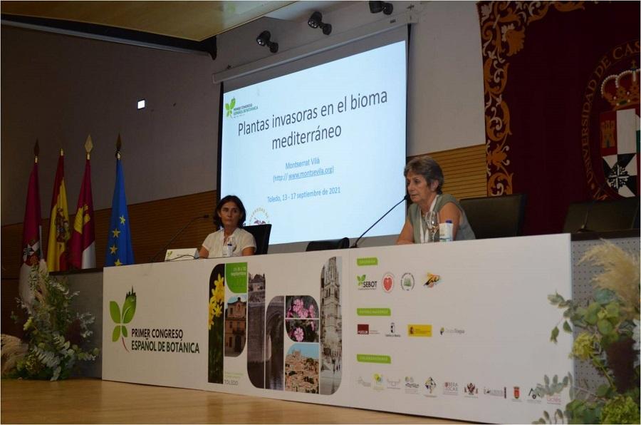 Conferencia plenaria en el I Congreso Español de Botánica