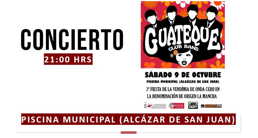 Guateque Club Band, desde la Piscina Municipal de Alcázar de San Juan