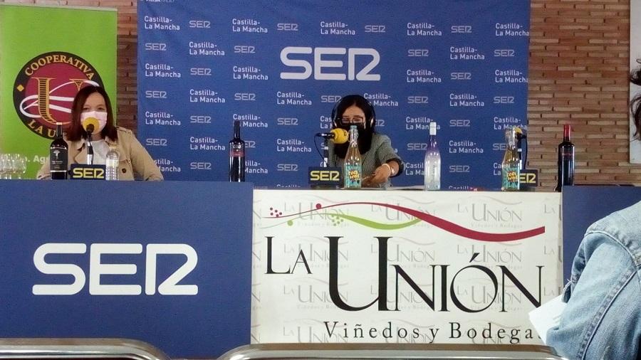 La alcades de Alcázar de San Juan, Rosa Melchor participa en el programa 'De la Bodega a la Mesa', desde la Cooperativa La Unión