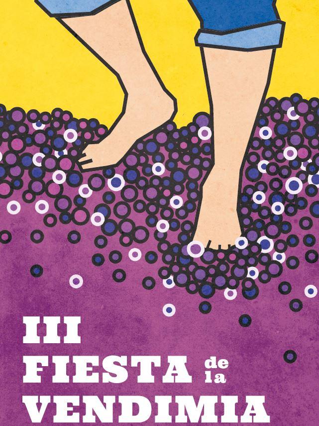 Pisada, cartel propuesto por Javier Gómez