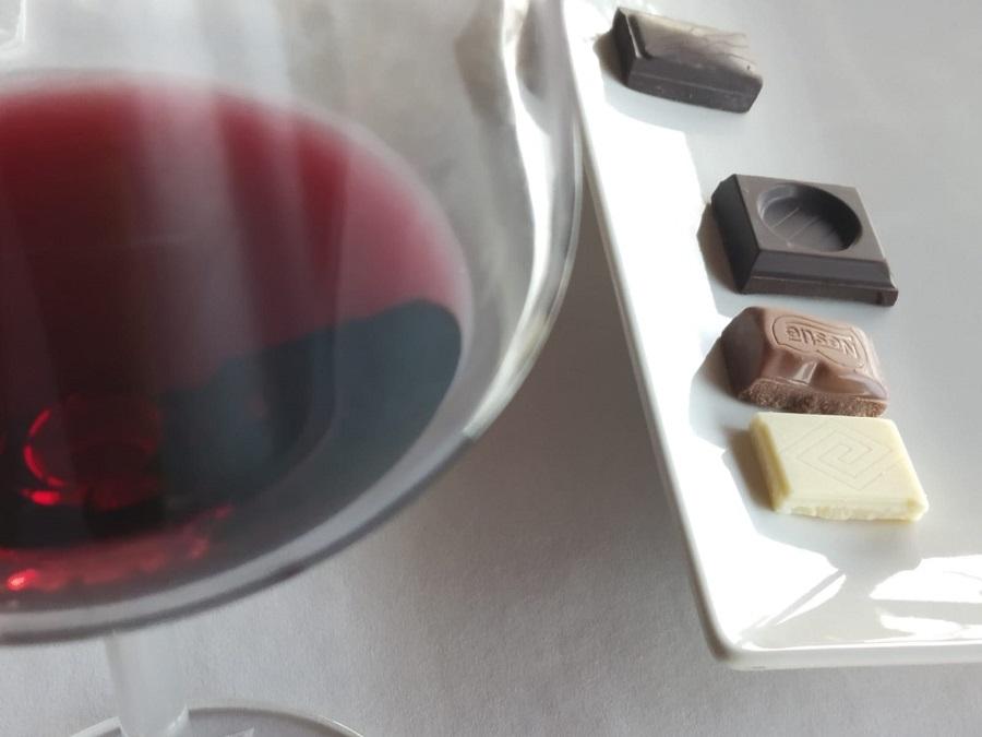 Maridaje de chocolate y vino de La Mancha