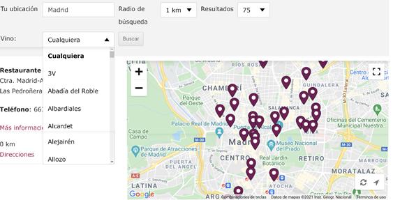 Imagen del buscador digital Vinos DO La Mancha